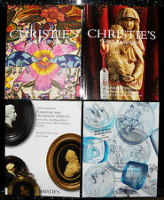 Christies catalogue - x4, furniture and decorative objects, mary bate.  f110
