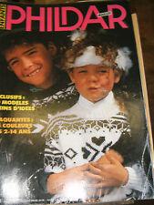 Phildar Mailles N° 171 Enfants 9 modéles pour les 2 à 14 ans Tricot Couture