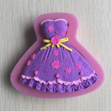 Brautkleid Silikon Kuchen Schokolade Craft Form Werkzeug Cupcake Tools