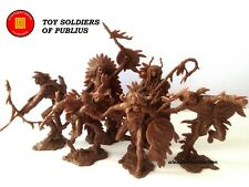 """PUBLIUS"" - SIOUX, American Indian,6 rubber soldiers 1:32"