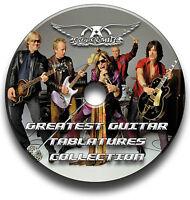 AEROSMITH ROCK GUITAR TAB TABLATURE SONG BOOK ANTHOLOGY SOFTWARE CD