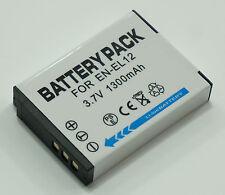 EN-EL12 1300mAh Li-Ion Battery For Nikon Coolpix Digital Camera
