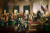1970's Poster: Scene at the Signing of the Constitution of the United States 178
