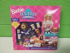 Barbie 67431 Mib 1995 Fun Fixin' Cake Set