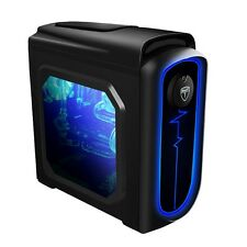 AvP Pulse nero Midi Tower Gaming case PC-USB 3.0 CON LUCE LED SISTEMA