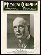 1931 Ward Stephens photo Musical Courier framing cover
