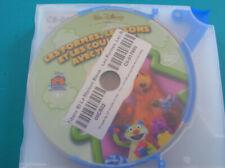 DVD DISNEY boitier slim TIBERE ET LA MAISON BLEUE LES FORMES LES COULEURS.  (b4)