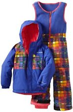Columbia Unisex Snow Slush Reversible Set Light Grape Afterglow 24 Months
