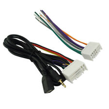 Car Radio Stereo Wire Wiring Harness OEM Adapter USB/AUX(3.5mm) for Hyundai/Kia