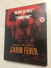 Cabin Fever (Blu Ray Steelbook) Sold Out Region Free