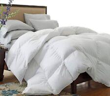 California King Goose Down Comforter Size White Blanket Luxury 1500 Thread