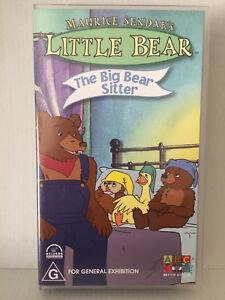 MAURICE SENDAKS ~ LITTLE BEAR ~ THE BIG BEAR SISTER ~ RARE VHS VIDEO