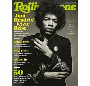 Rolling Stone 2020/09 JIMI HENDRIX Magazine Germany RARE
