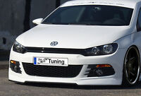 Frontansatz Frontspoiler Spoiler Schürze aus ABS für VW Scirocco 3 Typ 13