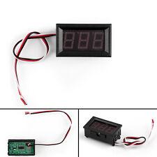 4Pcs Dc Digital Display Voltmeter 3Bit Red Led Voltage Panel 0-30V Module T1