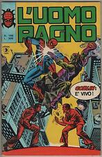 L' UOMO RAGNO corno # 160 GOBLIN : E' VIVO !  iron man morbius sunfire