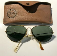 ba8acf85f7 New ListingVintage RAY BAN Bausch Lomb B L 62MM 62 14 GOLD AVIATOR  SUNGLASSES and CASE