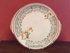 Vintage Knowles Yorktown Royal China Round Platter Flower Pots