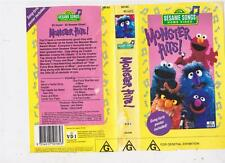 SESAME STREET ~MONSTER HITS ~ VIDEO PAL VHS