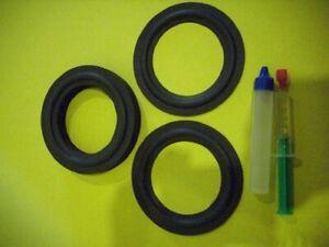 Quadral  Tribun Mk V Lautsprecher Mittelton Sicken Set quality foam rings 93