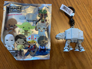 Star Wars The Mandalorian Character Bag Clip 3 Inch Exclusive AT-AT Opened