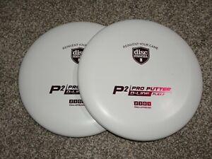 2 NEW Discmania Disc Golf New Originals D-Line Flex2 P2 Putters