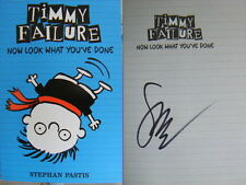 Signed Book Timmy Failure: Now Look What You've Done by Stephan Pastis pbk 2015