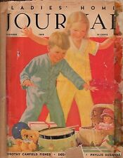 1935 Ladies Home Journal December - Christmas; Lindbergh; White House meals