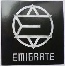 Aufkleber Autoaufkleber Werbeaufkleber Sticker EMIGRATE Richard Kruspe Rammstein