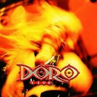 DORO - LIVE  CD  17 TRACKS CLASSIC HARD ROCK / HEAVY METAL CONCERT  NEU