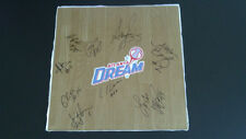 Atlanta Dream 2013 Team Signed Wnba Floor Board Angel Mccoughtry Free Shipping