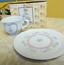 Vintage Precious Moments 1994 July Collector Cup & Saucer