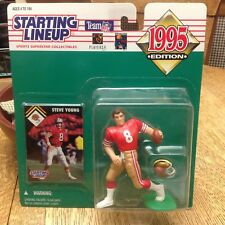 1995 STARTING LINEUP NFL Steve Young San Francisco 49ers Football Kenner SLU