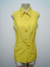 DOLCE E VITA Camicia Canotta Donna Viscosa Rayon Woman Shirt Sz.L - 46
