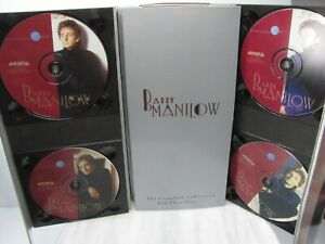 BARRY MANILOW The Complete Collection And Then Some  4-CD & 1-VHS + BOOKLET 1992