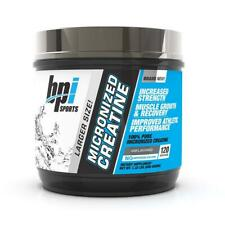 BPI Sports Micronized Creatine - Increase Strength - Reduce Fatigue 120 Servings