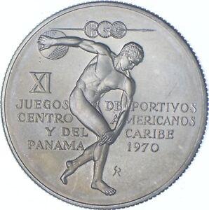 Better Date - 1970 Panama 5 Balboas - SILVER *110
