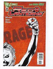 Red Lanterns # 2 NM DC 1st Print Regular Cover New 52 N52