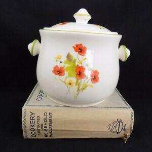 Poppy: Vintage Field Poppy Cookware Foreign Lidded Casserole Dish