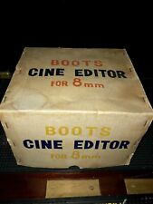 Vintage Boots 8 mm Cine Editor Working