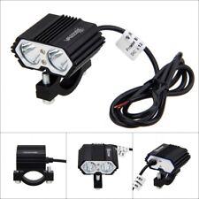 5000LM 30W 2x XM-L T6 LED Moto Projecteur Conduite Lampe Phare Feux Avant