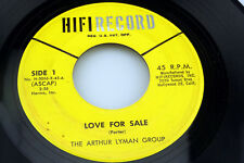 Arthur Lyman Group: Love for Sale / Dahil Sayo  [Unplayed Copy]