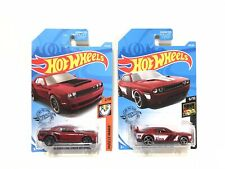 2019 Hot Wheels '18 Dodge Challenger SRT Demon & Challenger Drift Car Lot of 2