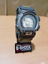 Vintage G-Shock G-Lite DW-003 Gray Cloth Band Rare Mercury Mirror Face Japan