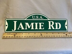 Green Street Room Sign Personalized  ~ USA  Jamie Rd~ Stocking Stuffer ~