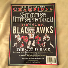 2010 Sports Illustrated CHICAGO BLACKHAWKS Commemorative Issue STANLEY CUP