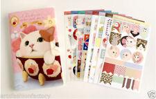 8-sheet Cat Sticker Scrapbook Deco Craft Stickers Cute cat Stickers