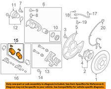 MAZDA OEM 16-17 CX-9 Brake-Rear Pads TKY82648ZA