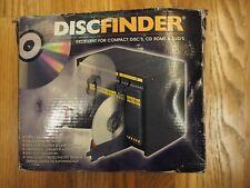 ProSling DISC FINDER 30 CD DVD FILING STORAGE UNIT SYSTEM Retro Vintage portable