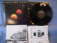 Wings, Venus And Mars, Capitol Records SMAS 11419, 1975, 2 POSTERS, Pop Rock